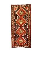 L'Eden del Tappeto Alfombra Sirjan Rojo / Gris 218  x  280 cm