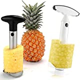 Babz® Easy Fruit Stainless Steel or Plastic Pineapple Slicer Cutter Corer (stainless_steel)
