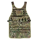 OneTigris MOLLE Tactical Apron for Chef and Mechanic (Multicam)