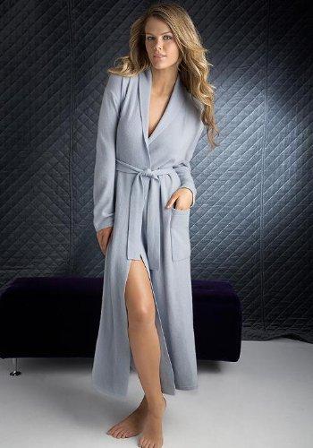 Arlotta Cashmere Robe Loungewear | Satin Sleepwear for Women