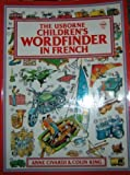 img - for Usborne Children's Wordfinder in French book / textbook / text book