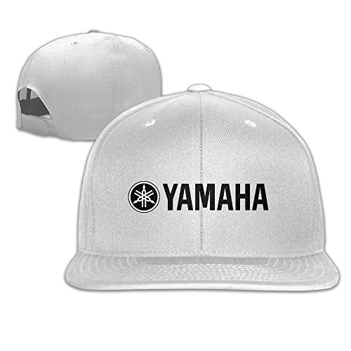 Runy Custom YAMAHA Adjustable Baseball Hat & Cap White