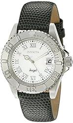 Invicta Women's 18400SYB Angel Analog Display Swiss Quartz Grey Watch