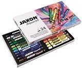 JAXON by Honsell - 49436 - Aquarell Wachspastelle 24er Set hergestellt von Jaxon
