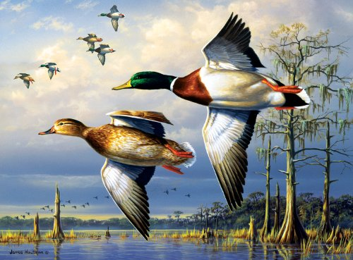 Hautman Brothers Duck Jigsaw Puzzle