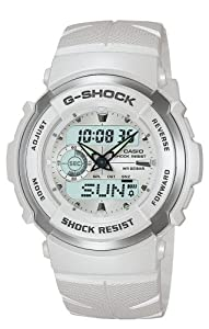 Casio Men's G300LV-7ACR G-Shock Street Rider White Ana-Digi Watch