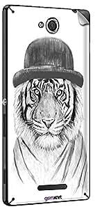 GsmKart SXC Mobile Skin for Sony Xperia C (Xperia C-764)