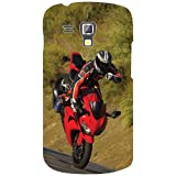 Samsung Galaxy S Duos 7562 Back Cover - Bike Designer Cases