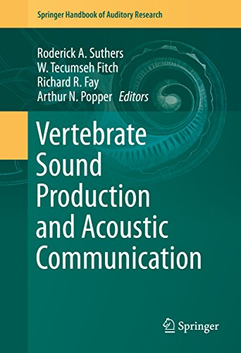 Vertebrate Sound Production and Acoustic Communication (Springer Handbook of Auditory Research) (Sound Poppers compare prices)