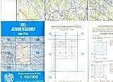 Österr. Top. Karte 193, Jennersdorf, 1:50 000 mit Wanderwegen