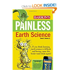 Painless Earth Science (Barron's Painless Series) Edward J. Denecke