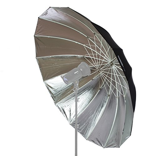 Parabolic Umbrella Vs Softbox: StudioPRO Professional Strobe Speedlight Flash Reflector