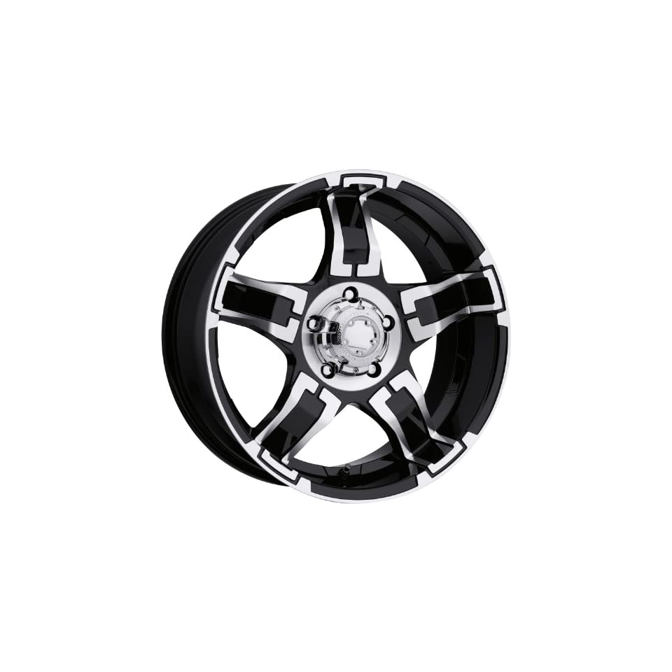 Ultra Wheel 194B Drifter Matte Black Wheel (17x8/5x5.5mm, +20 mm offset)