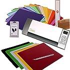 Silhouette Cameo Digital Craft Cutter Machine Ultimate Bundle - Accessories, Vinyl Supplies & Application Tools