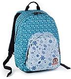 ZAINO INVICTA - OLLIE PACK II - Azzurro Blue fantasia - tasca porta pc padded - scuola e tempo libero americano 24 LT