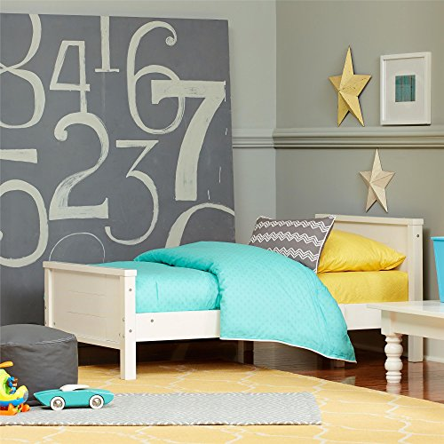 Toddler Bed Frame Conveniently Transforms Solid Wood