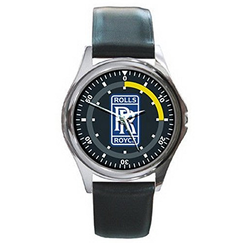 Paper Printed XSXJB036 Hot 2015 Brand rolls royce Logo Round Watch (Rolls Royce Watch compare prices)