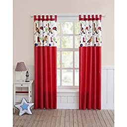 VCNY Yeehaw Curtain Panel Pair | Includes Two (2) Panels 40 Inches x 84 Inches Each