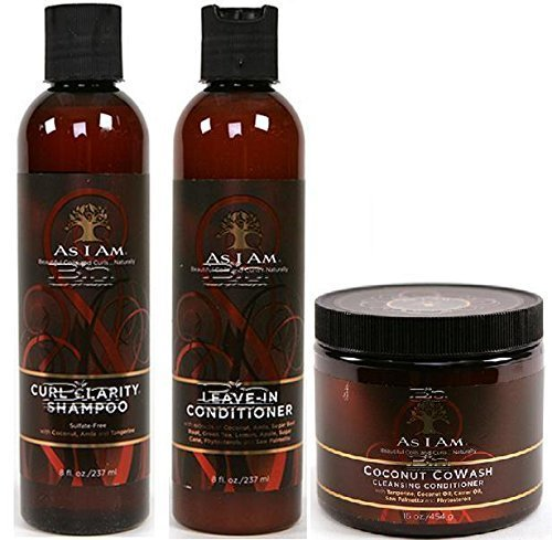 as-i-am-naturally-3pcs-combo-deal-curl-shampoo-leave-in-conditioner-and-coconut-cowash-plus-1-free-p