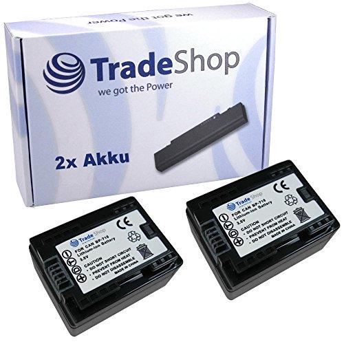 2x Hochleistungs Li-Ion Akku mit Infochip 3,6V/3,7V ersetzt Canon BP-709 BP-718 BP-727 BP709 BP718 BP727 für Legria HF-M52 HF-M56 HF-M506 HF-R36 HF-R38 HF-R306 HF-R46 HF-R48 HF-R406 Vixia HF-M50 HF-M52 HF-M500 HF-R30 HF-R32 HF-R300