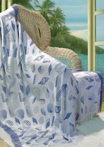 Seashell Throw Blanket front-1034161