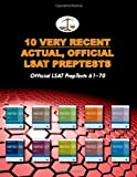 10 Very Recent Actual, Official LSAT PrepTests: Official LSAT PrepTests 61-70 (Cambridge LSAT) (10 Actual, Official LSAT PrepTests) (Volume 4)