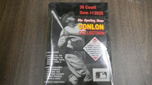The Sporting News Conlon Collection 36 Count Item # 12020 1991 Edition Sport Cards - 1