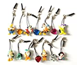 14 pcs Dust Plug Phone Charm - Snow White and the Seven Dwarfs 8 pcs and Crystals 6 pcs for cell phone iPhone iPad mobile device tablet