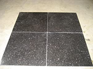 Black Galaxy 12X12 Polished Standard Tile (as low as $8.39/Sqft) - 47 Boxes ($8.64/Sqft) 470 Sqft