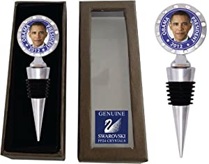 Chatt Obama Wine Bottle Stopper with Swarovski Crystals in Chatt Gift Box at Sears.com