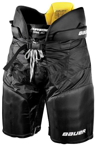 Bauer Supreme ONE40 Junior Ice Hockey Pants - Red - X-Large (Junior Hockey Pants compare prices)