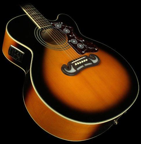 Epiphone EJ-200CE Acoustic-Electric Guitar, Shadow Preamp, Vintage Sunburst