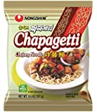 Nongshim Chapagetti Chajang Noodle, 4.5 Ounce Packages (Pack of 20)