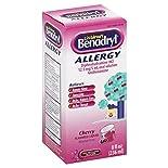 Benadryl Children's Allergy, Cherry Flavored Liquid, 8 fl oz (236 ml)