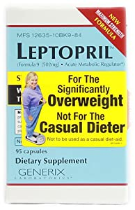 Basic Research Leptopril -- 95 Capsules by Basic Research