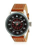 Springfield Reloj con movimiento japonés Man 45 mm (Marrón Oscuro)