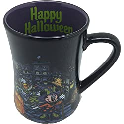 "Disney Parks ""Happy Halloween"" Mickey Mouse Ceramic Mug"