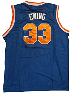 Patrick Ewing Autographed New York Knicks Signed Jersey AAA COA by Powers Collectibles