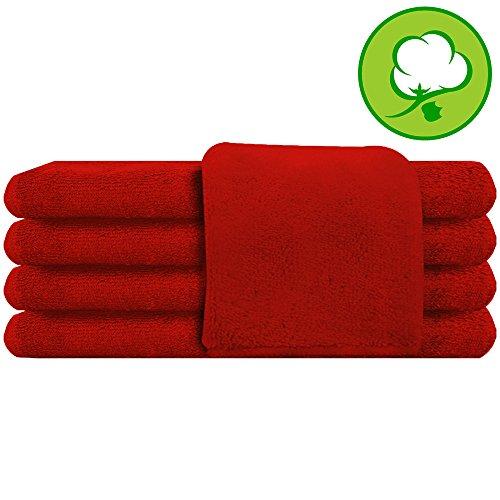 Red Salon Towel 100% Cotton 16