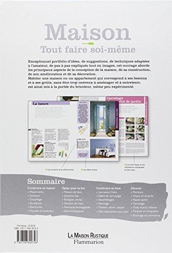 libro maison tout faire soi m me di michel beauvais. Black Bedroom Furniture Sets. Home Design Ideas