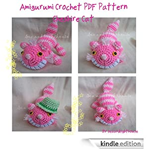Cheshire Cat Amigurumi Crochet Pattern Free : Cheshire Cat From Alice In Wonderland Amigurumi Crochet ...