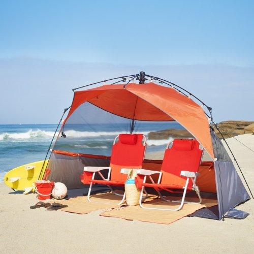 Coleman Pop Up Shelter : New lightspeed outdoors pop up sport shelter beach tent