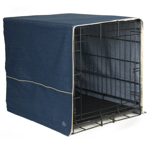 Pet Dreams- Dog Crate Cover- Denim  Blue- Large (Midwest Crate Cover compare prices)