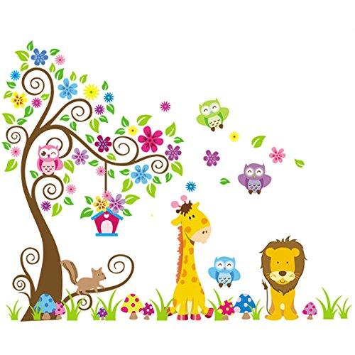 dschungel-zoo-eulen-auf-baum-mit-giraffe-und-lowe-unter-fur-kinder-kinderzimmer