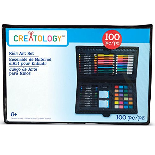 Kids Art Set, 100 Piece by Creatology - 1