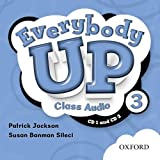 Everybody Up 3 Class Audio Cds: Beginning to High Intermediate, Grade K-6