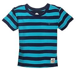 Vitamins Baby Boys' T-Shirt (08Tb-424-1-A.Blue_Light Blue_1 - 2 Years)