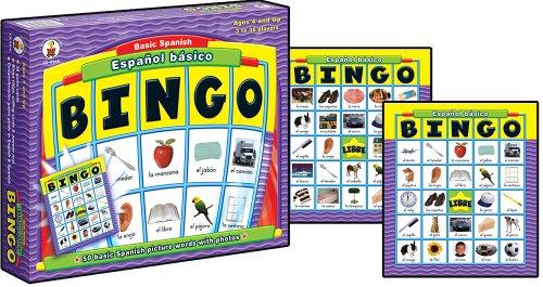 Espanol Basico Basic Spanish: BINGO Board Game