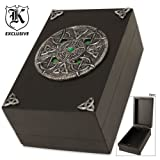 BudK Celtic Wooden Trinket Box