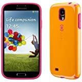 Speck Products CandyShell Samsung Galaxy S4 Case  - Mango/Raspberry